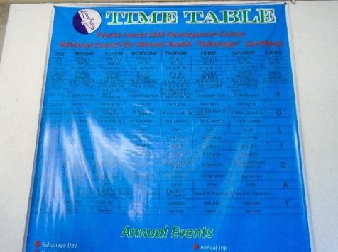 hospital-timetable